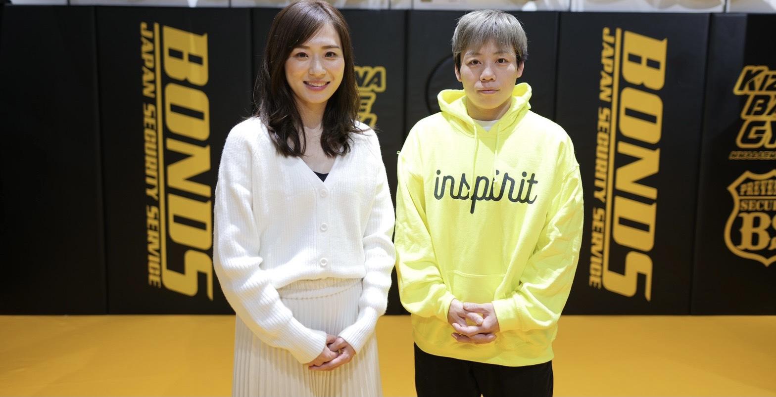 「浜崎朱加選手のスポンサーになりました」のアイキャッチ画像